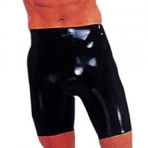 Latex Bermuda Shorts