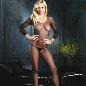 Leg Avenue Open Crotch Fishnet Bodystocking