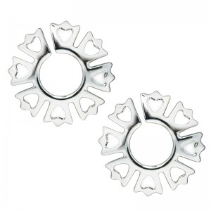 Silver Nipple Clips