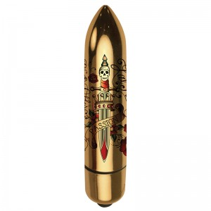 Rocks Off RO80 Tattoo Bullet Deadly Passion