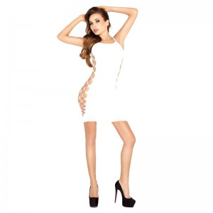 Passion Open Sided Dress White