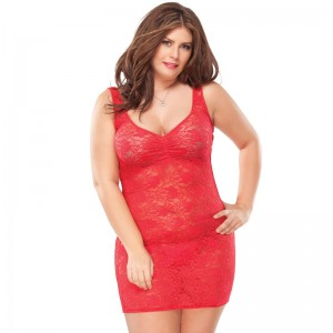 Coquette Kissable Red Lacey Dress UK 1620