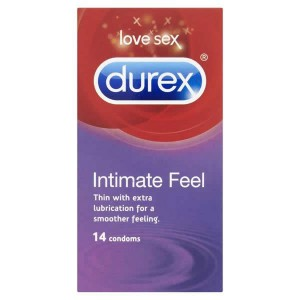 Durex Intimate Feel 14 Pack Condoms