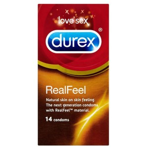 Durex Real Feel 14 Pack Condoms