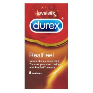 Durex Real Feel 8 Pack Condoms
