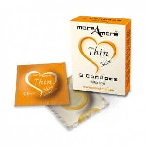 More Amore Condom Thin Skin 3 pcs