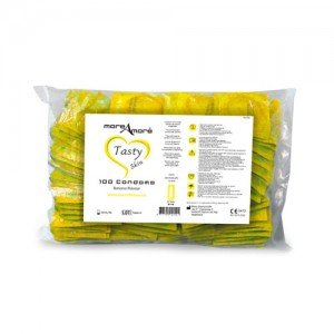 More Amore Banana Condoms 100 Pack