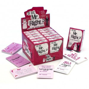Mr Right Card Game