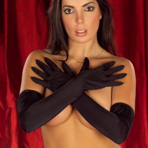 Elbow Length Lycra Glove