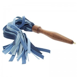 House of Eros Medium Weight Flogger 2 Shades of Blue