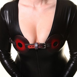 House of Eros Breast Press Harness