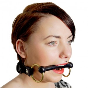 House of Eros Pony Bit Gag 1 Inch leather Strap