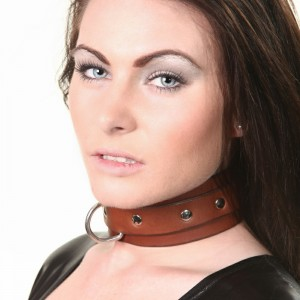 House of Eros Superior Brown Collar