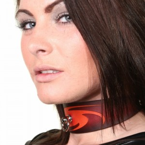 House of Eros Mini Brown Swirl Collar