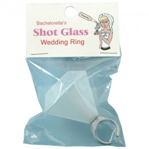 Shot Glass Wedding Ring