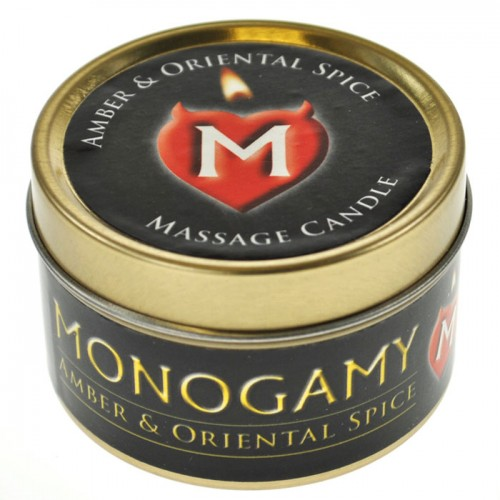Monogamy Amber and Oriental Large Candle 65g