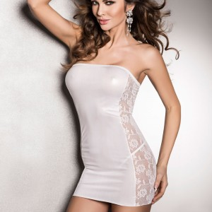 Passion Vena Dress White