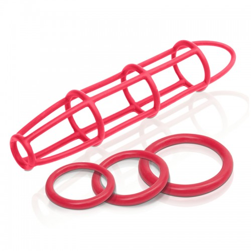 Fetish Fantasy Elite Silicone Cockcage  and  Ring