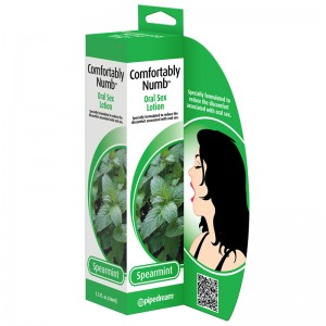 Comfortably Numb Spearmint Oral Sex Lotion