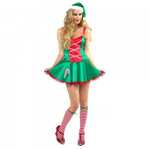 Santas Little Helper Sexy Christmas Outfit