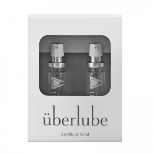 Uberlube Good To Go Silicone Lubricant Refills