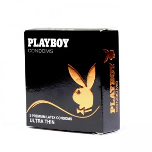 PlayBoy Ultra Thin Condoms 3 Pack