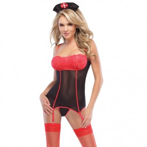 Coquette Kissable Nurse Set UK 814