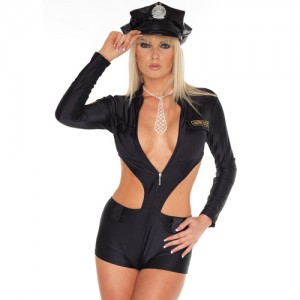 Police Uniform With Hat